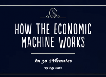 "Ray Dailio – ""How the Economic Machine Works, in 30 Minutes"""